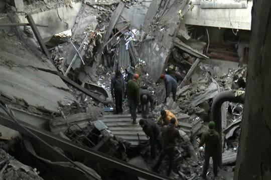 При разборе завалов вДзержинске отыскали тела еще двоих человек