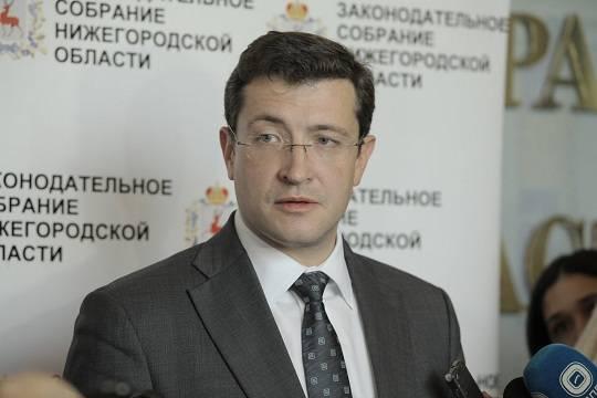 Глеб Никитин предлагает поменять закон овыборах губернатора области