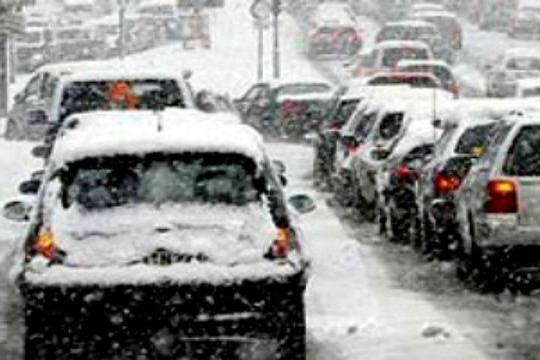 ГИБДД предупреждает оснегопаде игололедице на трассах Нижегородской области 21