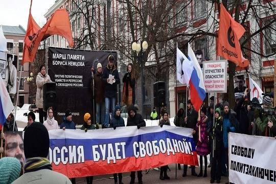 Петербуржские власти неразрешили марш памяти Немцова вцентре города