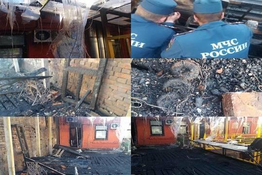 ВНижнем Новгороде вспыхнул двухэтажный дом икафе
