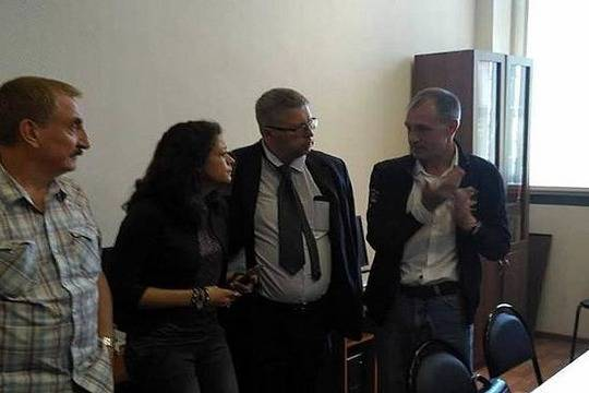 ВНижнем Новгороде оштрафовали защитников прав человека изИталии